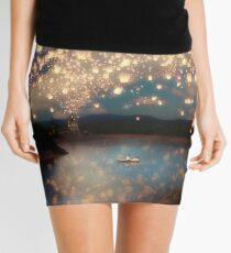 Wish Lanterns for Love Mini Skirt