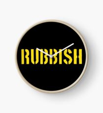 Janis Ian Rubbish Clock