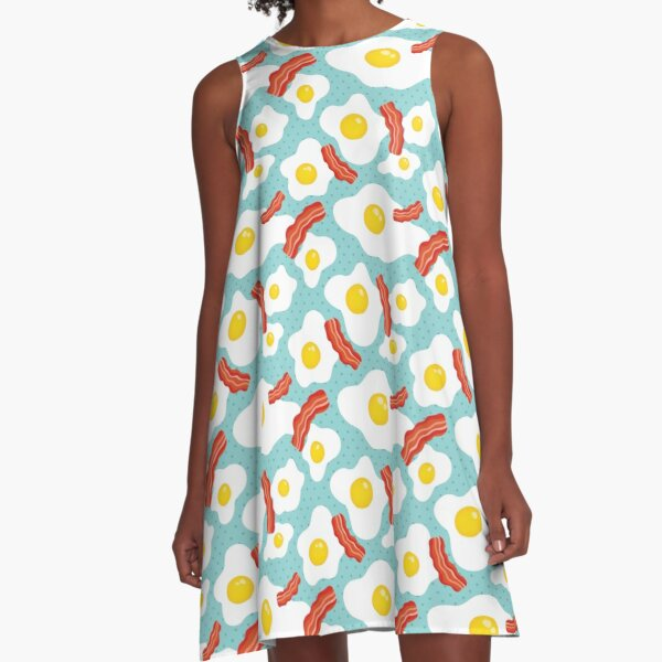 eggs and bacon A-Line Dress