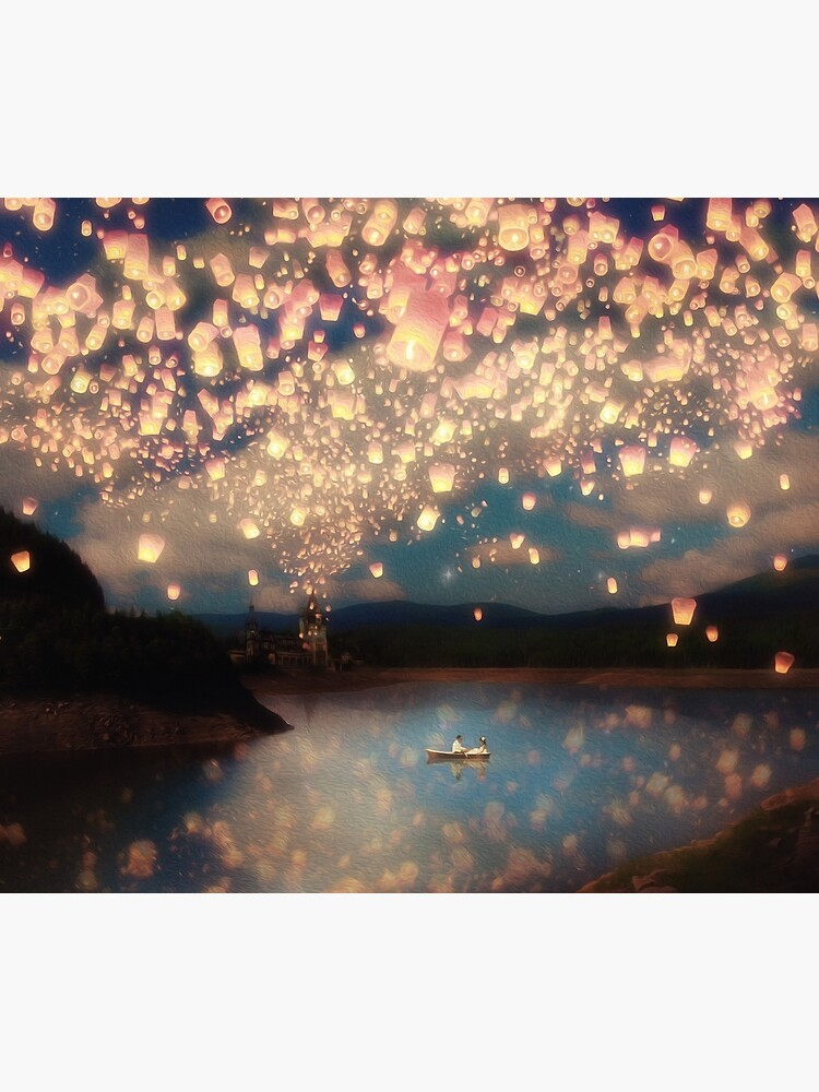 Wish Lanterns for Love by BelleFlores