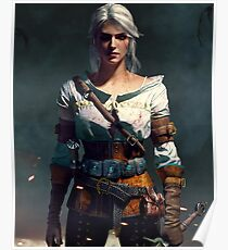 The Witcher 3 WILD HUNT - Ciri Poster