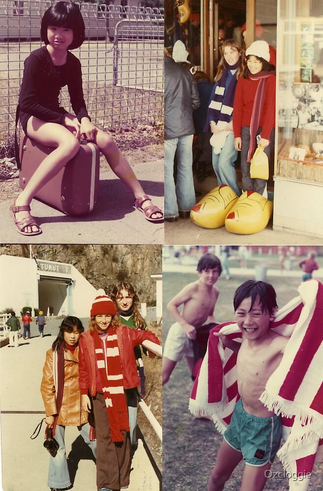 Young Asian-Australians and clogs by Ozcloggie
