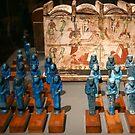 Objects of the tomb of Kha by annalisa bianchetti