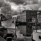 The Shore, Leith. by Stuart  Gennery