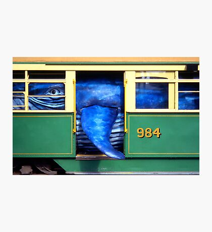 Whale of a Tram Photographic Print