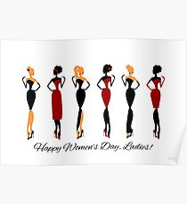 Happy Women's Day, Ladies! Poster
