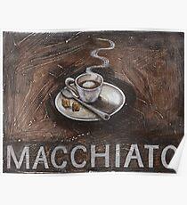 macchiato Poster