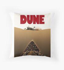 Dune Jaws Throw Pillow