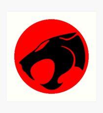 Logo Thundercats Art Print
