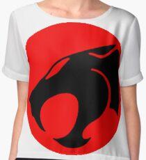 Logo Thundercats Chiffon Top