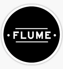 Flume Logo Sticker