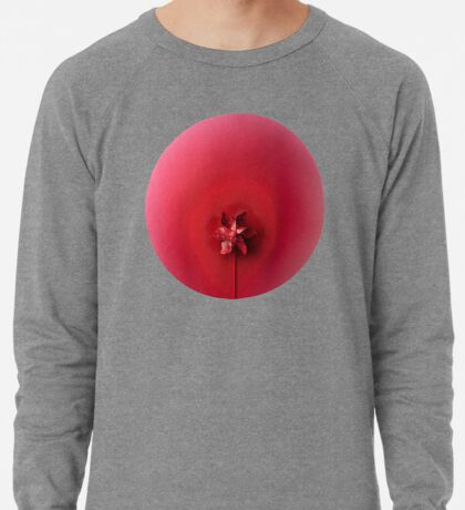 Rote Explosion Leichter Pullover