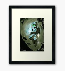 Gadget Boy Framed Print
