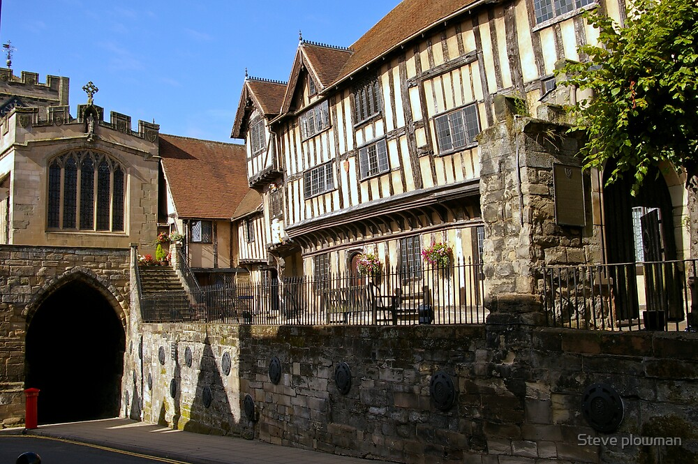 Lord Leycester hospital by Steve plowman
