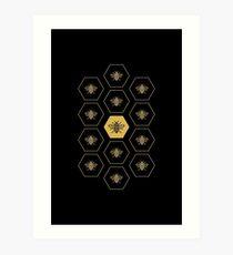 Manchester Bee Art Print