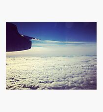 Flying Above the Clouds Photographic Print
