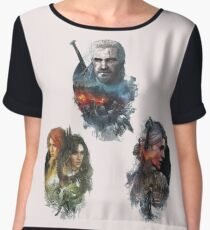 Witcher 3 Women's Chiffon Top