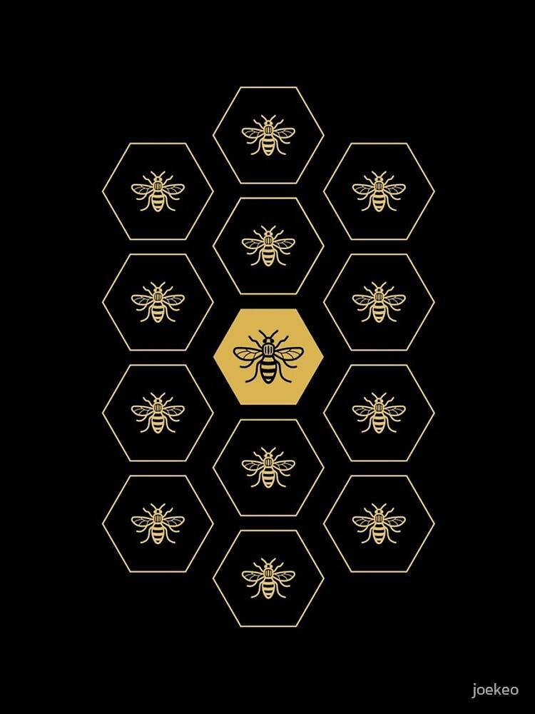 Manchester Bee by joekeo