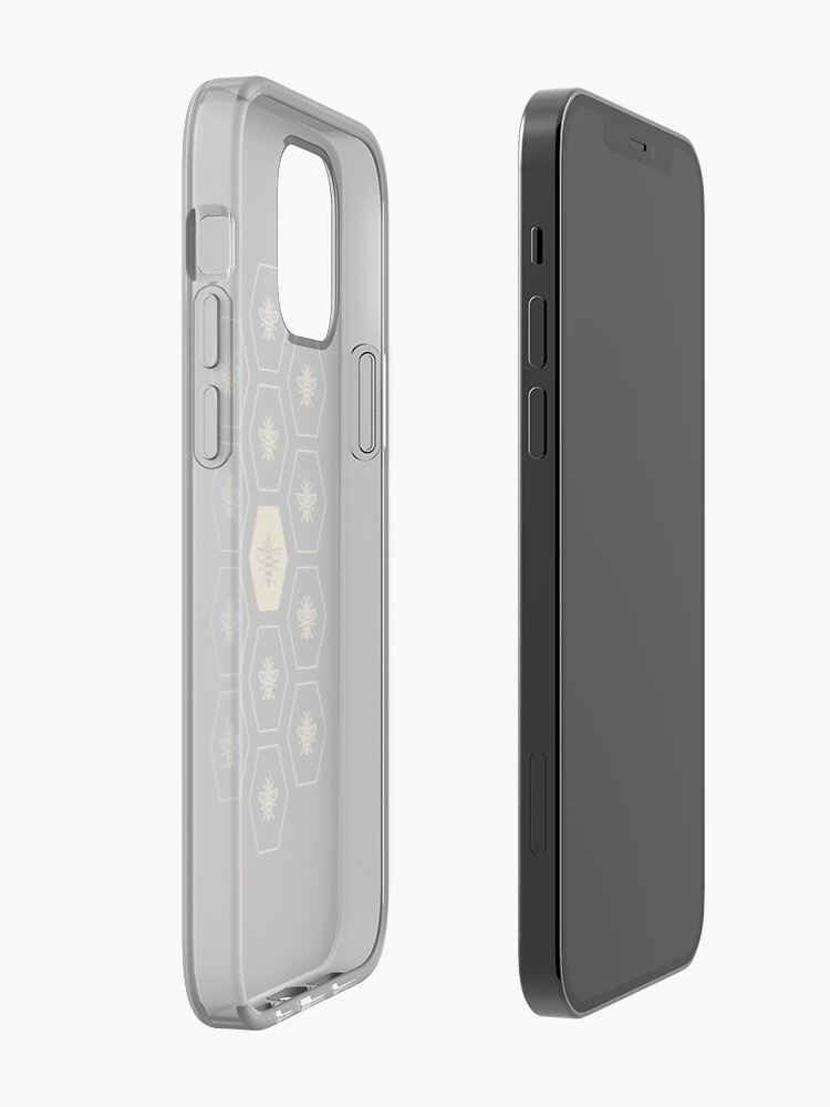 Alternate view of Manchester Bee iPhone Case & Cover