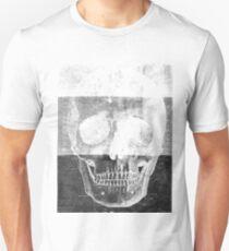 Tri-tone skull Unisex T-Shirt