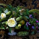 Still life with flowers and vegetables by WazobirdStudio