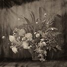 Vintage still life with flowers by WazobirdStudio