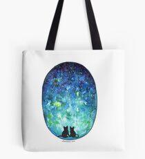Cat love Tote Bag