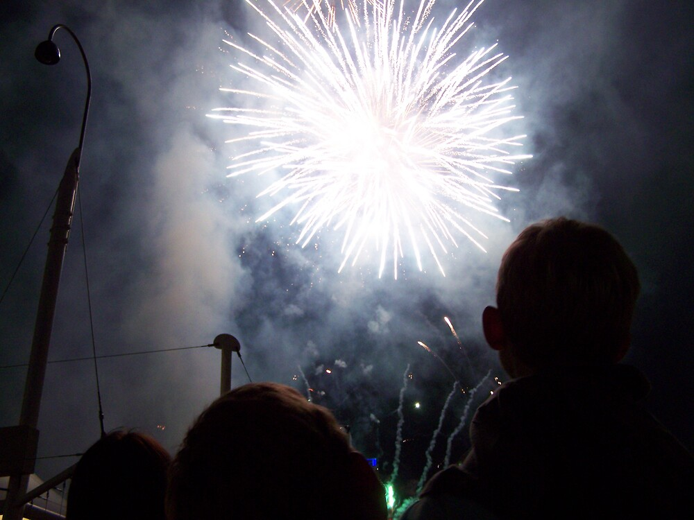 Fireworks by aperture