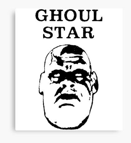 Ghoul Star v.2 Canvas Print