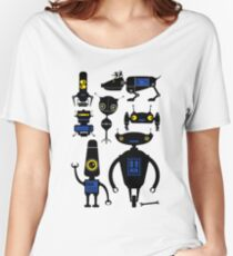 Lots of Robots! Women's Relaxed Fit T-Shirt