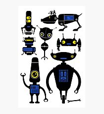 Lots of Robots! Photographic Print
