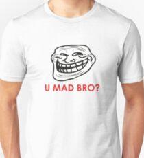 MEME: U mad bro? Unisex T-Shirt
