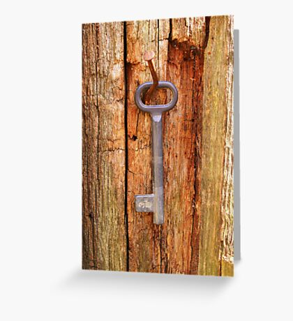 Lock Greeting Card