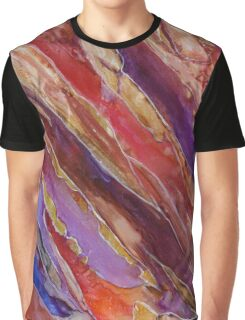 Mixed Emotion Graphic T-Shirt