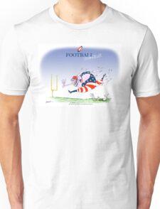 USA Football - steamroller, tony fernandes Unisex T-Shirt