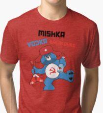 Mishka, Vodka, Balalayka! Tri-blend T-Shirt