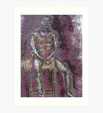Coloured Man Art Print