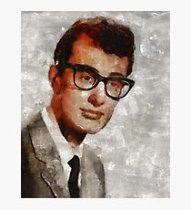 Buddy Holly, Musician Photographic Print