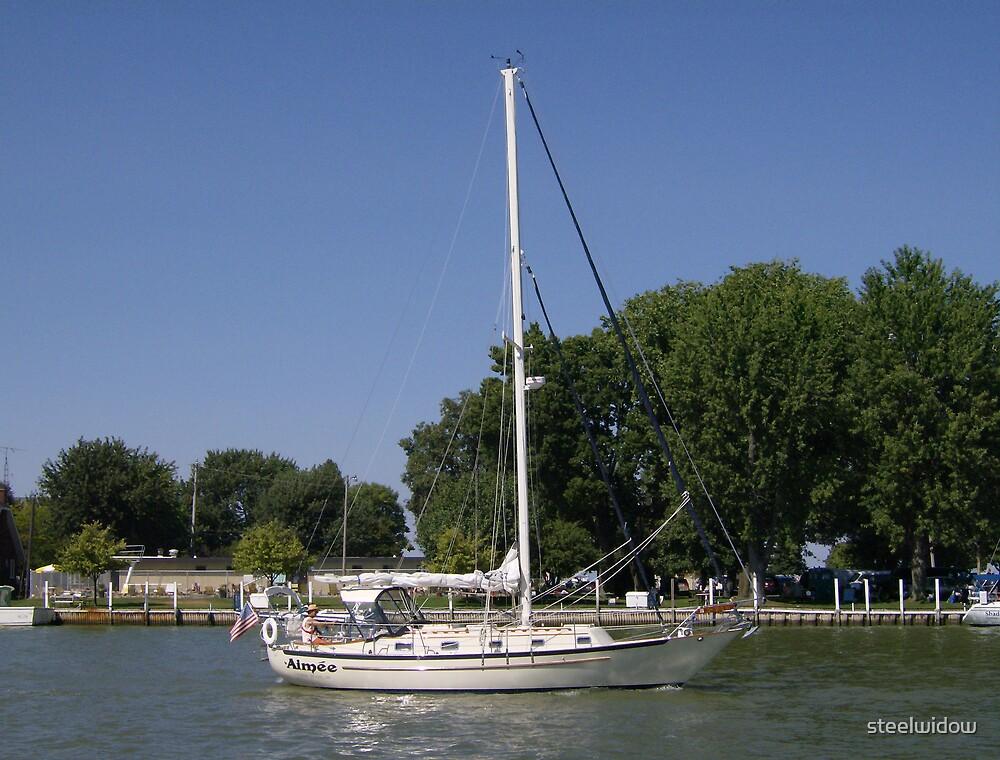Sailboat by steelwidow