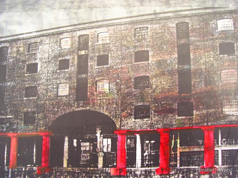 Albert Dock Buildings, Liverpool by Elizabeth Wood