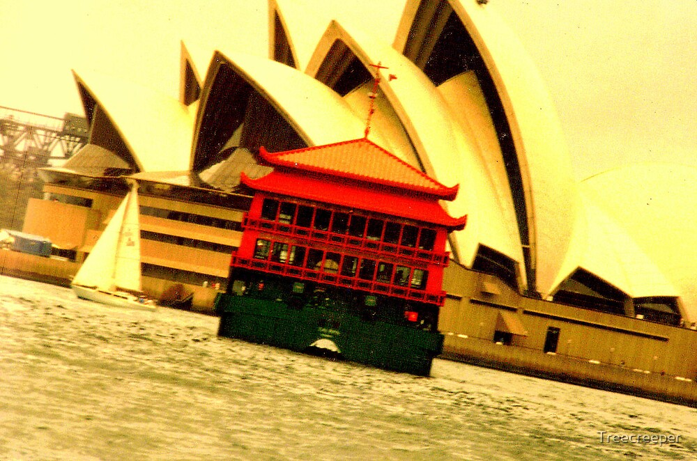 Sydney Harbour by Treecreeper