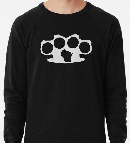 Wisconsin Skinny knuckle up Lightweight Sweatshirt