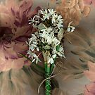 Paperwhites on pastel background by WazobirdStudio