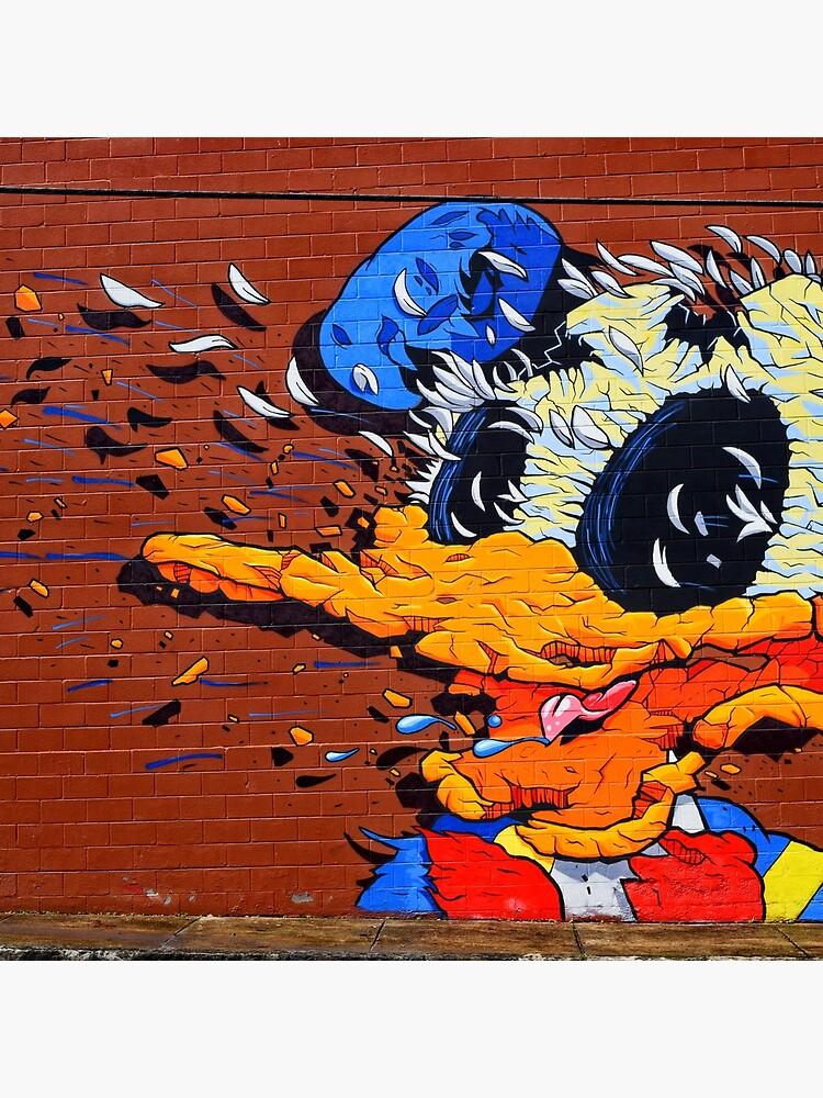 Donald Duck - Artist Matt Gondek - Atlanta Graffiti  by DonBPhotography