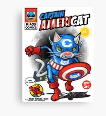 Captain Americat Canvas Print