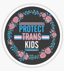 PROTECT TRANS KIDS Sticker