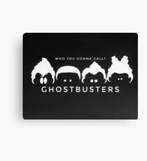Ghostbusters B&W Canvas Print