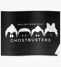Ghostbusters B&W Poster