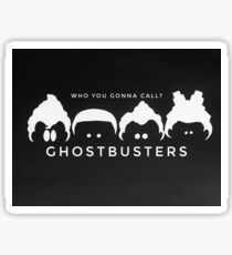 Ghostbusters B&W Sticker