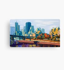 GTA IV Cityscape, Late Afternoon Canvas Print
